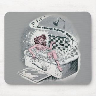 Bubble bath mouse pad