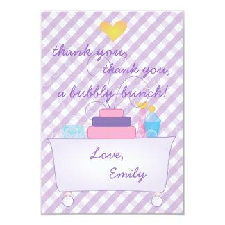 Bubble Bath Party 3.5x5 Paper Invitation Card
