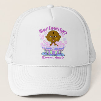 Bubble Bath Time Trucker Hat