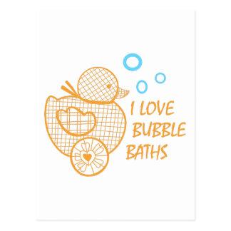 Bubble Baths Postcard