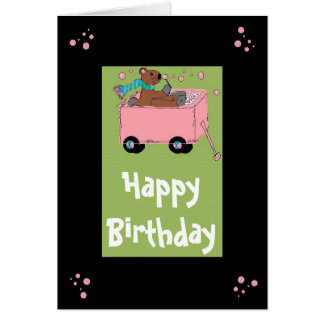 Bubble Bear Card