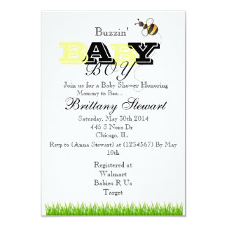 Bubble Bee Invitation