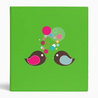 Bubble Birds Binder