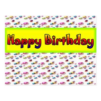 Bubble Birthday Postcard