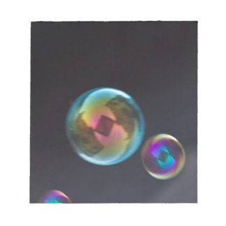 bubble blower notepad