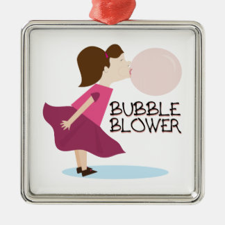 Bubble Blower Christmas Ornaments