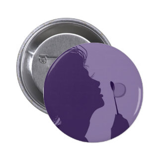 Bubble Blower Pinback Button