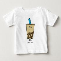 Bubble Boba Pearl Milk Tea Tapioca balls Baby T-Shirt