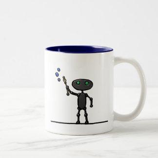 Bubble Bot Mug