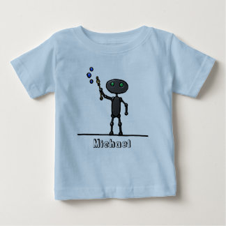 Bubble Bot Toddler T-Shirt Personalized