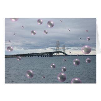 Bubble Bridge Card