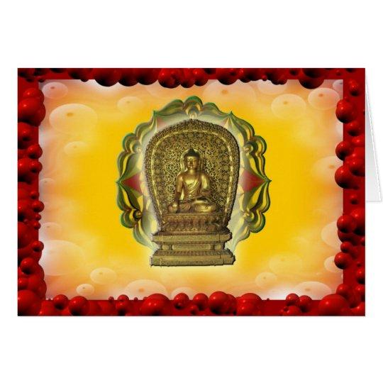 Bubble Buddha Card
