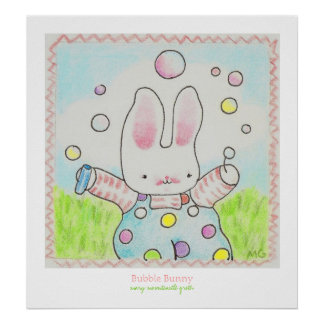 Bubble Bunny poster