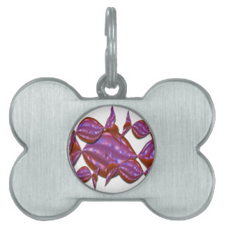 Bubble Candy Collection Pet ID Tag