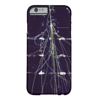 Bubble chamber particle trails phone case