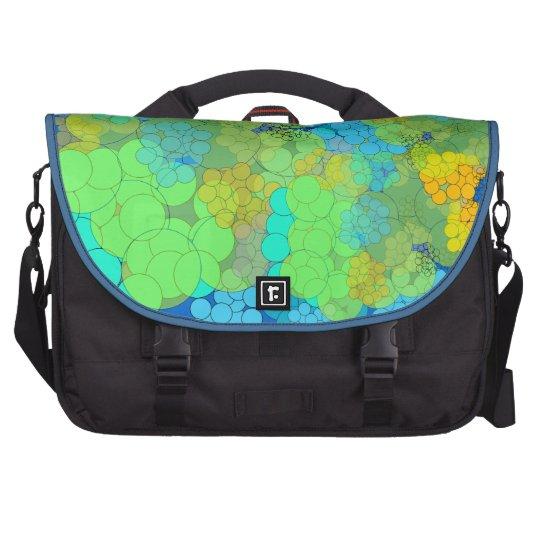 Bubble Colorful Polka Dots Laptop Bag