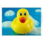 Bubble Duck Card