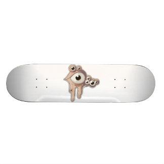 Bubble eye custom skateboard