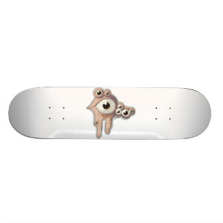 Bubble eye skateboard deck