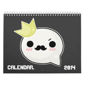Bubble Face Calendar