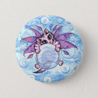 Bubble Fairy Kitten Cat Button