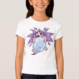 Bubble Fairy Kitten Cat Fantasy Art Girls T-Shirt