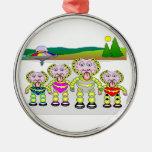 Bubble Family Ornament