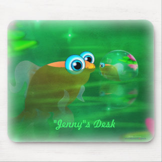 Bubble Fish Mousepad
