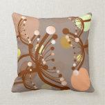Bubble Flowers Pillow