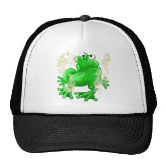 bubble frog mesh hats