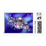 Bubble Galaxy Postage Stamps