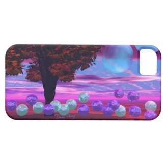 Bubble Garden - Rose and Azure Wisdom iPhone 5 Case