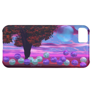 Bubble Garden - Rose and Azure Wisdom iPhone 5C Cases