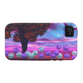 Bubble Garden - Rose and Azure Wisdom iPhone 4/4S Cover