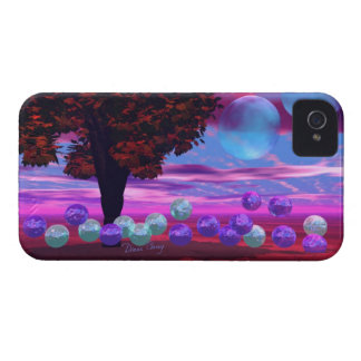 Bubble Garden - Rose and Azure Wisdom Blackberry Cases