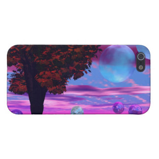 Bubble Garden - Rose and Azure Wisdom Cases For iPhone 5