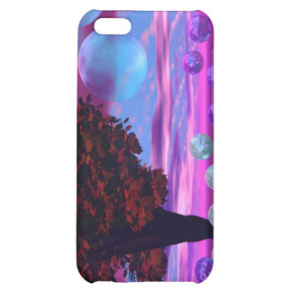 Bubble Garden - Rose and Azure Wisdom iPhone 5C Case