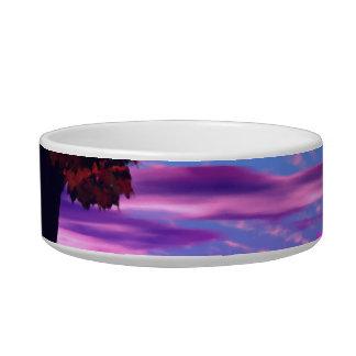 Bubble Garden - Rose and Azure Wisdom Cat Bowl