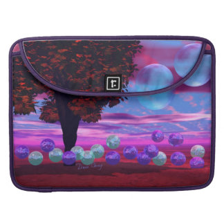 Bubble Garden - Rose and Azure Wisdom Sleeve For MacBooks