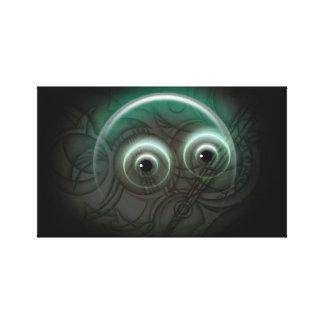 Bubble Glow Canvas Print