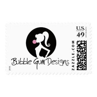 Bubble Gum Designs Logo Stamps