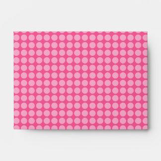 Bubble Gum Dots Envelope