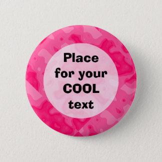Bubble Gum Factory Accident Template (round) Pinback Button