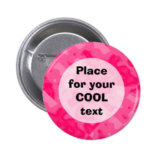Bubble Gum Factory Accident Template (round) Pinback Button