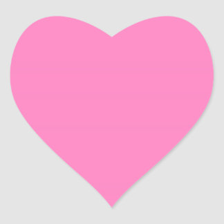 BUBBLE GUM HEART STICKER
