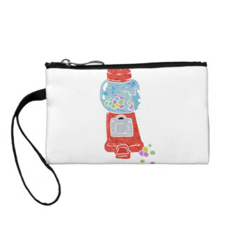 Bubble gum machine. coin purse