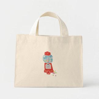 Bubble gum machine. mini tote bag