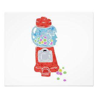 Bubble gum machine. photo print