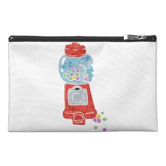 Bubble gum machine. travel accessory bag