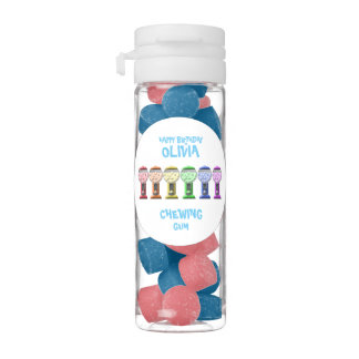 Bubble Gum Machines Happy Birthday
